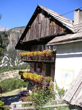Traditional auberge in Le Queyras