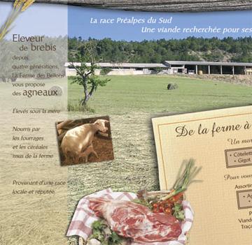 "Flyer for ""la ventedirecte"""